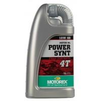 HUILE MOTOREX 4T 10W60 POWER SYNT 1L