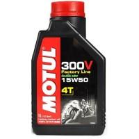 HUILE MOTUL 300V 4T 15W50 1L