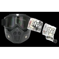 MASQUE SPECIAL CASQUE JET + KIT ROLL OFF