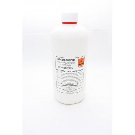 Acide pour batterie bidon 1l
