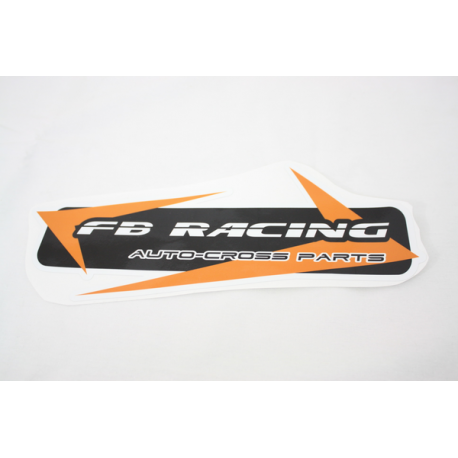 Stickers / Autocollant  FB RACING 300mm
